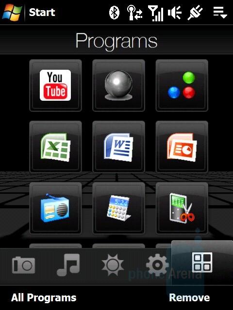 Programs - HTC Touch Diamond Review
