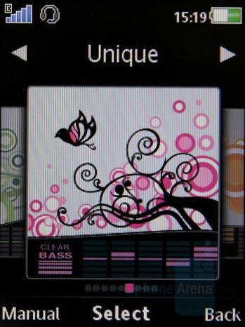 Equalizer - Sony Ericsson W980 Preview