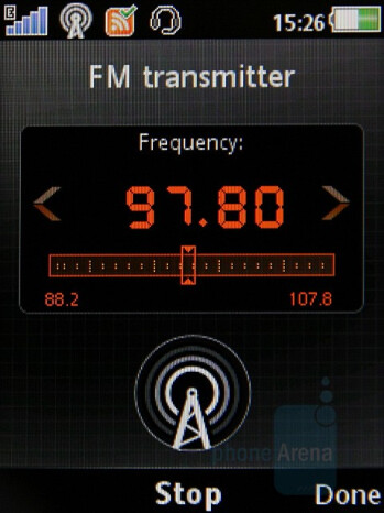FM Transmitter - Sony Ericsson W980 Preview