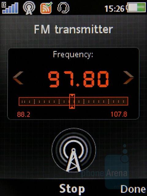 FM Transmitter - Sony Ericsson W980 Preview