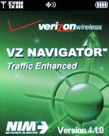 VZ Navigator - Motorola W755 Review
