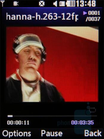 Video playback - LG Secret Review