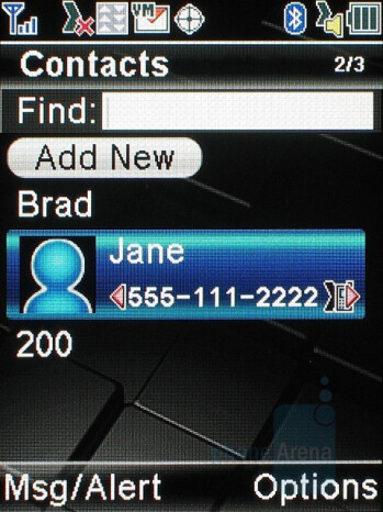 Phonebook - Sanyo PRO-200 Review
