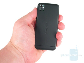 Back side - Samsung Instinct Review