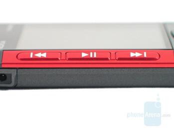 Media player controls - Nokia 5310 XpressMusic Review