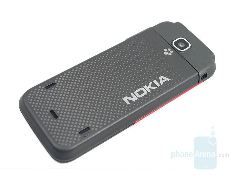 Back - Nokia 5310 XpressMusic Review