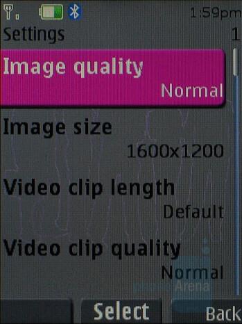 Camera interface - Nokia 5310 XpressMusic Review
