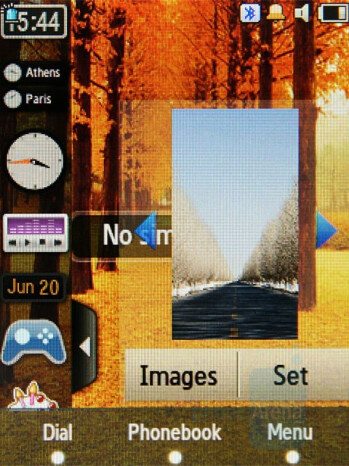 Gallery - Widgets - Samsung SGH-F480 Review