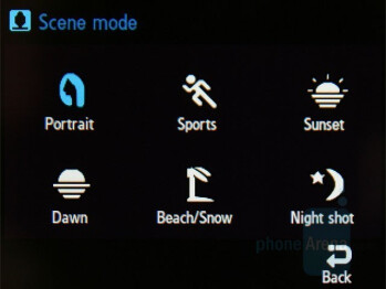 Camera Interface - Samsung SGH-F480 Review