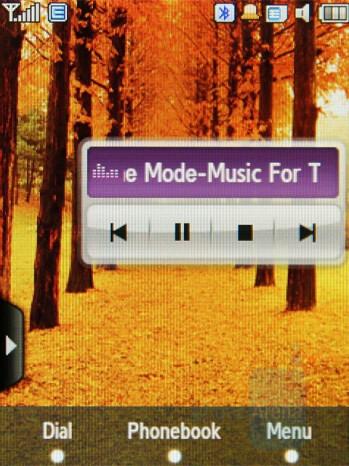 Widget Player - Samsung SGH-F480 Review