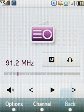 FM Radio - Samsung SGH-F480 Review