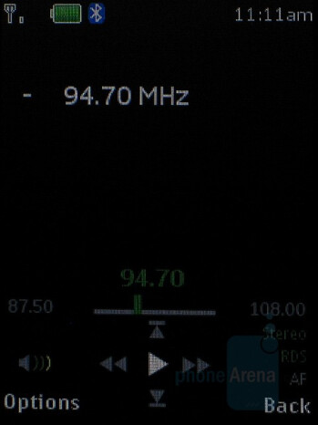 FM Radio - Nokia 5310 XpressMusic Review