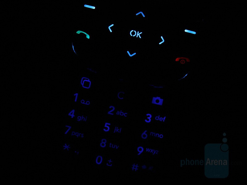 Keypad - LG KF310 Review