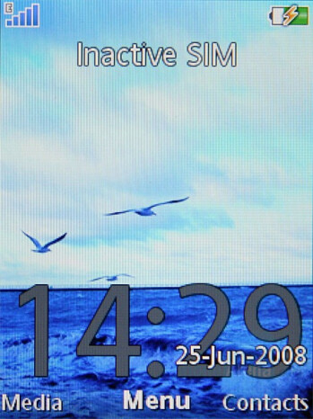 Homescreen - Sony Ericsson C905 Preview