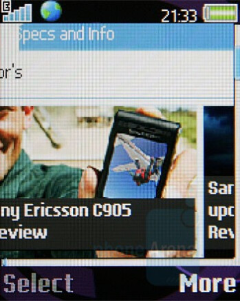 Browser - Sony Ericsson W350 Review
