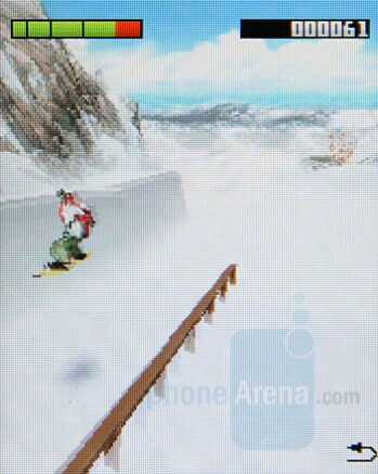 Extreme Air Snowboarding - Sony Ericsson W350 Review