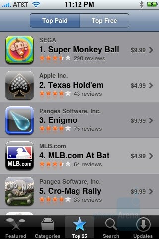 Apple App Store - Apple iPhone 3G Review