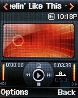 Music player - Samsung SGH-M620 Review