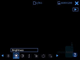 Camera interface - i-mate Ultimate 8502 Preview