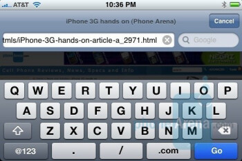 Apple iPhone - QWERTY Keyboards - Touchscreen phone comparison Q3 - U.S. carriers