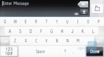 Samsung Instinct - QWERTY Keyboards - Touchscreen phone comparison Q3 - U.S. carriers