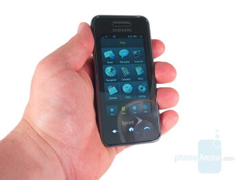 Samsung Instinct - Touchscreen phone comparison Q3 - U.S. carriers