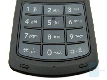 Numeric keypad - LG Chocolate 3 Review