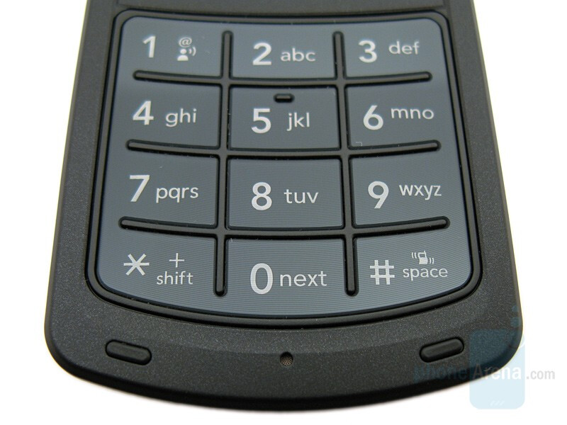 Numeric keypad - LG Chocolate 3 Review
