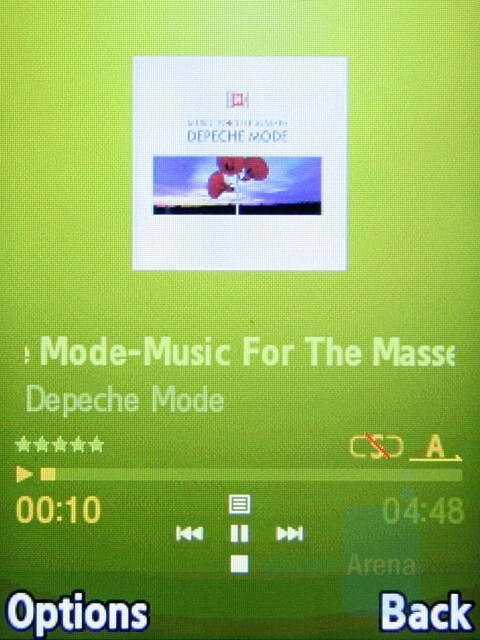 Music Player - Samsung SGH-L770 Review