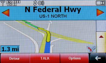LG Dare - GPS Navigation - Touchscreen phone comparison Q3 - U.S. carriers