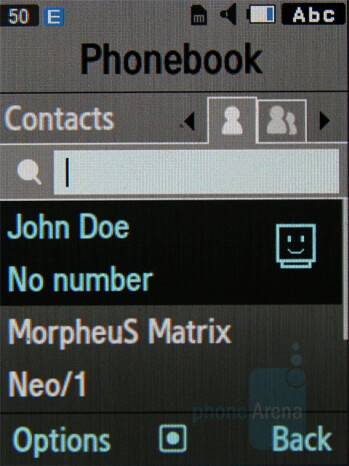 Phonebook - Samsung Soulb Review