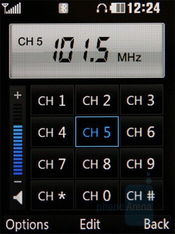 FM Radio - LG KC550 Review