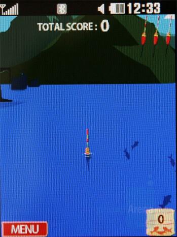Fishing - Games - LG KC550 Review