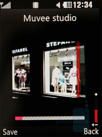 Muvee Studio - LG KC550 Review