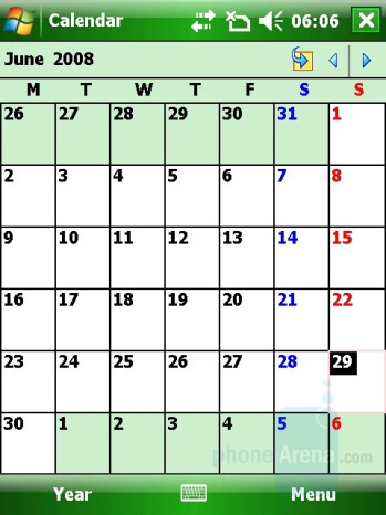 Calendar - Gigabyte GSmart t600 Review