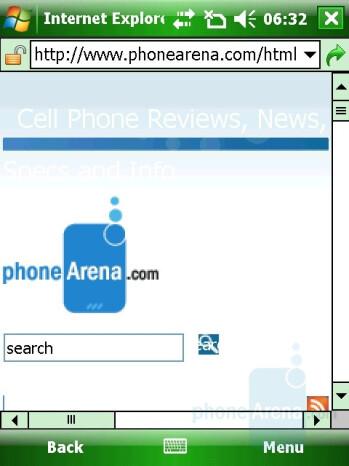 Internet Explorer - Gigabyte GSmart t600 Review