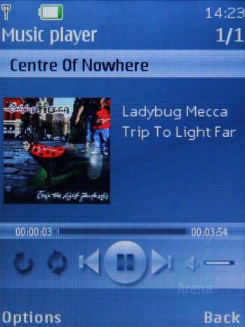 Music Player - Nokia 7310 Supernova Review