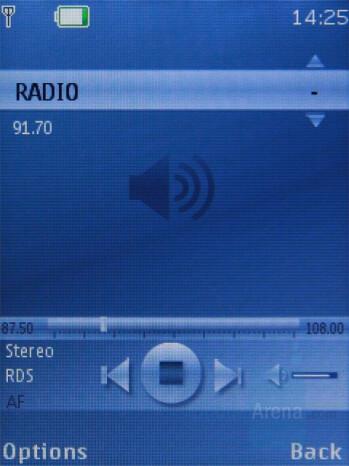 FM Radio - Nokia 7310 Supernova Review