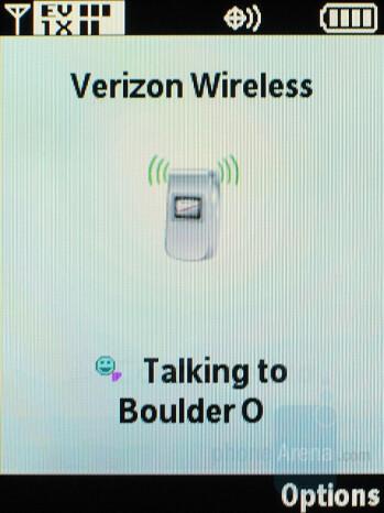 Push-to-Talk - Motorola Adventure V750 Review