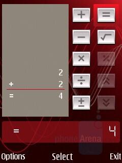 Calculator - Nokia 5320 XpressMusic Review