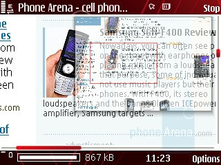 Internet Browser - Nokia 5320 XpressMusic Review