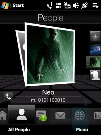 TouchFLO 3D - HTC Touch Pro Review