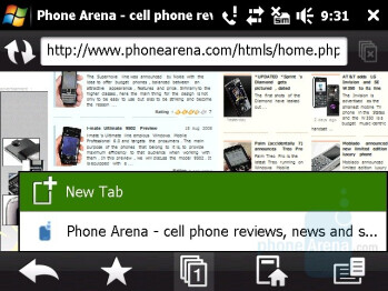 Opera Mobile 9.5 - HTC Touch Pro Review