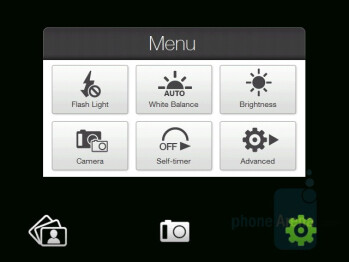 Camera Interface - HTC Touch Pro Review