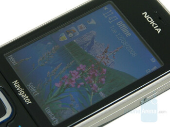Display - Nokia 6210 Navigator Review