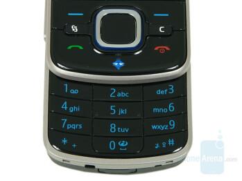 Keypad - Nokia 6210 Navigator Review