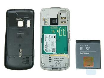 Back - Nokia 6210 Navigator Review