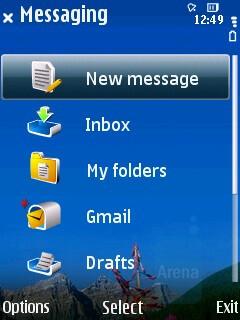 Messaging - Nokia 6210 Navigator Review