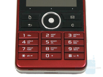 Navigational buttons and keyboard - Sony Ericsson G900 Review