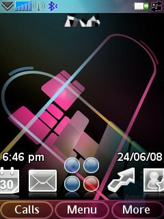 Homescreen - Sony Ericsson G900 Review
